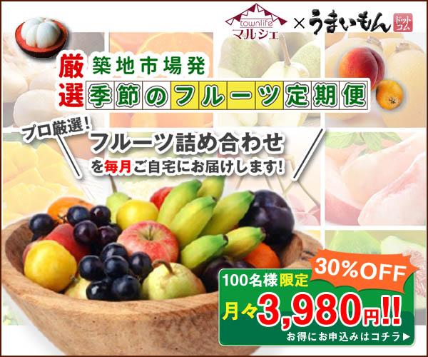厳選 季節のフルーツ定期便
