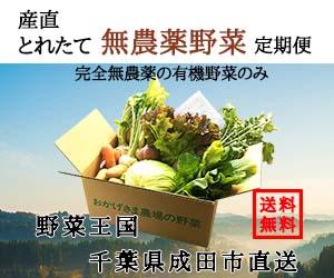 タウンライフマルシェ 無農薬野菜定期便